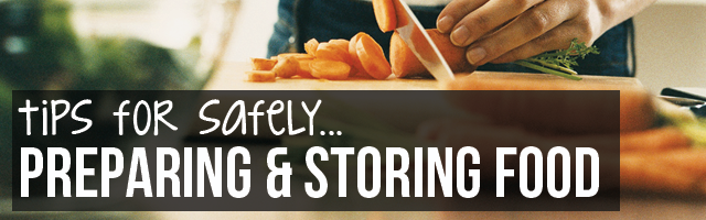 Food safety and preparation  sc 1 st  MeMD & Tips for Food Safety and Storage - MeMD