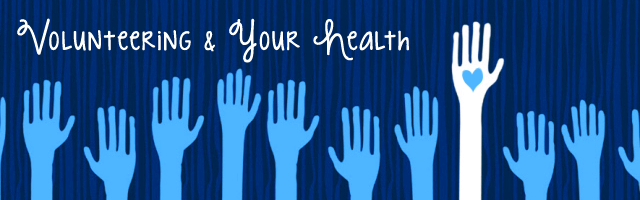 volunteer and be healthy