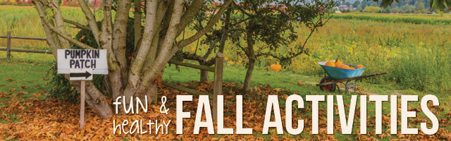 Fun and healthy activities for fall