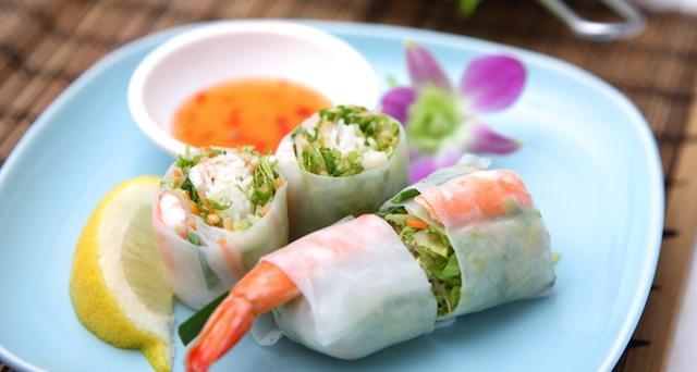 Healthy Eats: Summer Spring Rolls