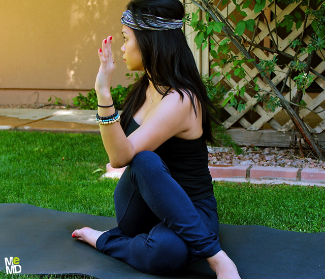 Yoga RX: Half Spinal Twist Pose (Ardhamatsyendrasana)
