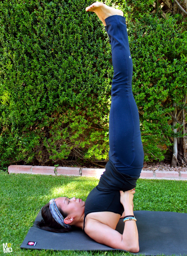 Yoga Rx: Shoulderstand (Sarvangasana)