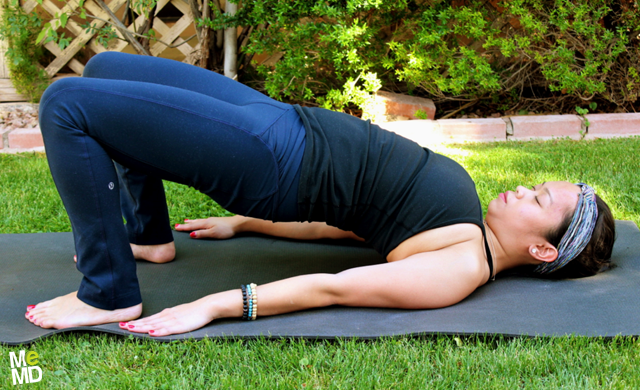 Yoga RX: Bridge Pose (Setu Bandha Sarvangasana)