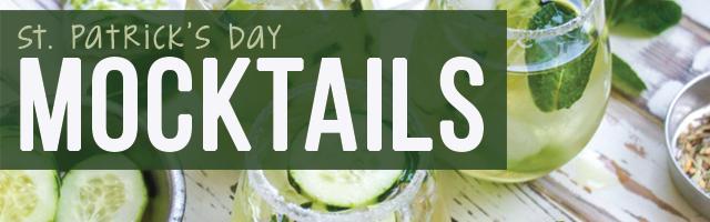 St. Patrick's Day Mocktails