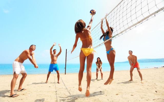 Beach volleyballBeach Volleyball Fun
