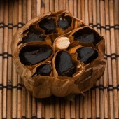 Anti-aging foods include products like black garlic