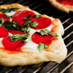 Healthy Eats: Grilled Pizza