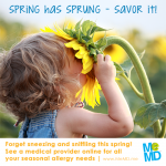 MeMD Offers Discounted Telemedicine Visits for Allergy Season