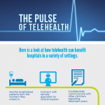 Telehealth Use in Hospitals [Infographic]